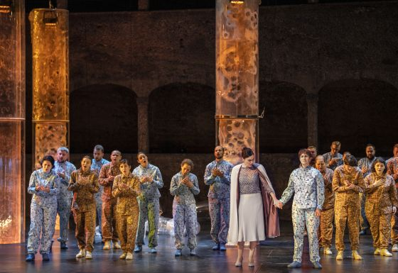 musicAeterna Choir of Perm Opera Paula Murrihy Nicole Chevalier Idomeneo Salzburger Festspiele 2019
