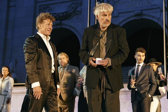 Helmut Mooshammer Björn Meyer Tobias Moretti Jedermann Salzburger Festspiele 2019