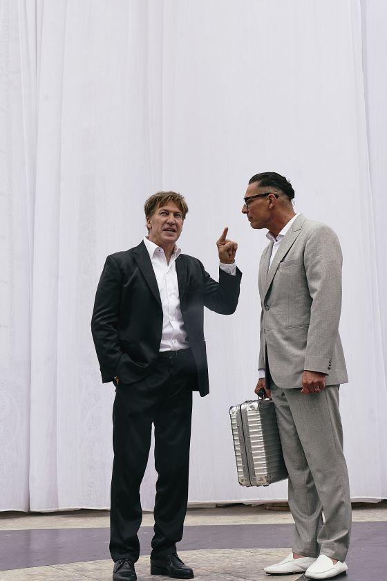 Tobias Moretti Gregor Bloéb Jedermann Salzburger Festspiele 2019