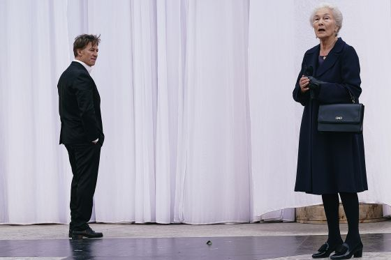 Tobias Moretti Edith Clever Jedermann Salzburger Festspiele 2019
