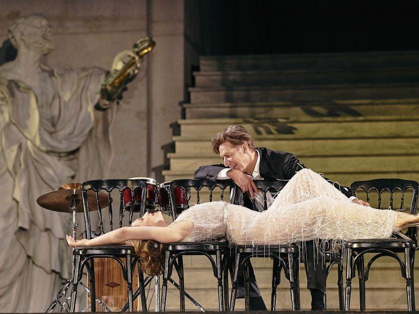 Valery Tscheplanowa Tobias Moretti Jedermann Salzburger Festspiele 2019