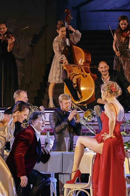 Valery Tscheplanowa Markus Kofler Tobias Moretti Jedermann Salzburger Festspiele 2019