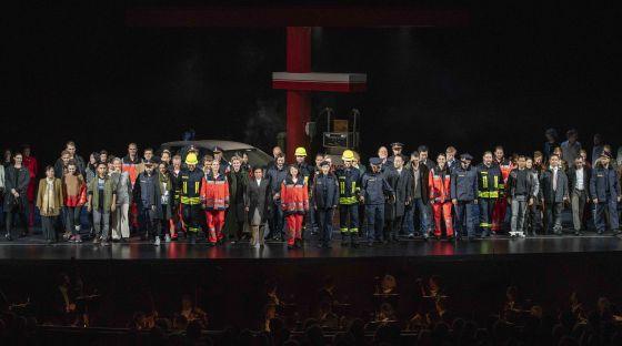 Schlussapplaus Médée Salzburger Festspiele 2019