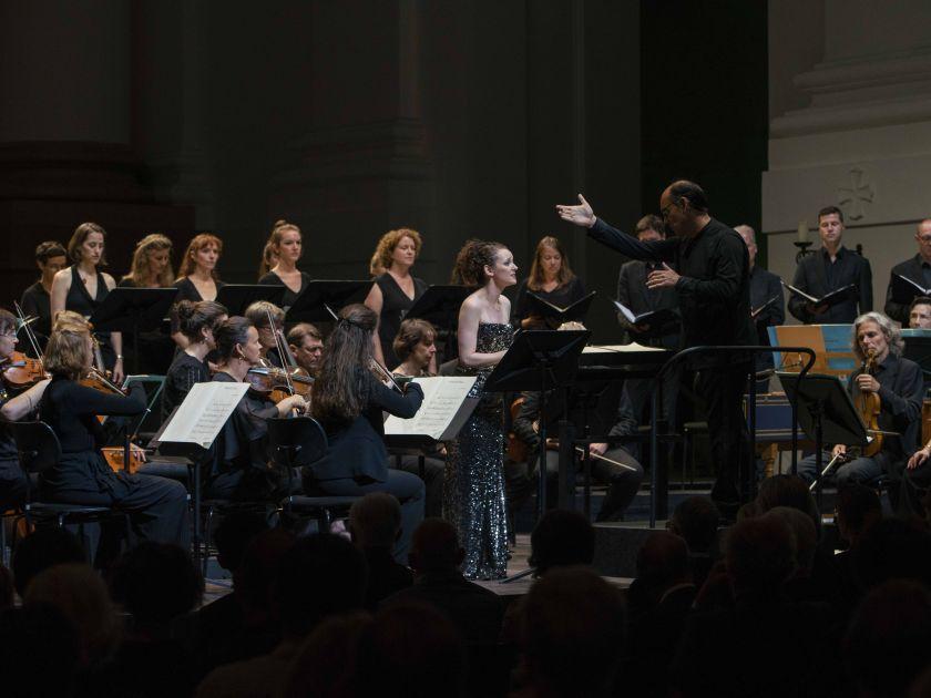 Jennifer France, Franck Ollu, Vocalconsort Berlin, Akademie für Alte Musik Berlin Medeamaterial Salzburger Festspiele 2019