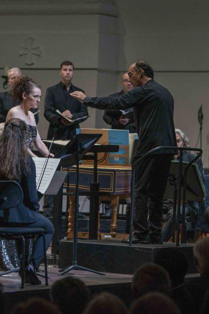 Jennifer France, Franck Ollu, Vocalconsort Berlin, Akademie für Alte Musik Berlin, Medeamaterial Salzburger Festspiele 2019