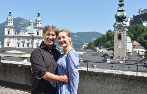 Tobias Moretti Valery Tscheplanowa Jedermann Schauspiel Salzburger Festspiele