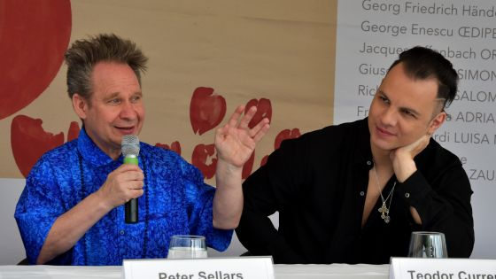 Teodor Currentzis Peter Sellars Salzburger Festspiele