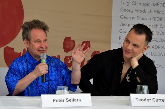 Teodor Currentzis Peter Sellars Salzburg Festival