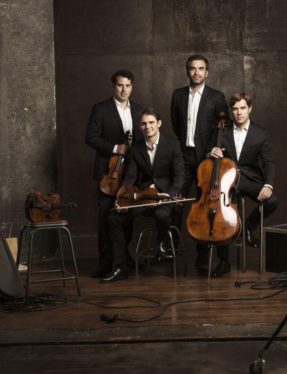 Quatuor Modigliani string quartet