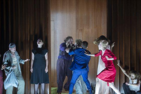 Marie-Lou Sellem, Genija Rykova, Dagna Litzenberger Vinet, Dominic Oley, Paul Behren, Martin Schwab, Gerti Drassl, Primož Pirnat Sommergäste Salzburger Festspiele 2019