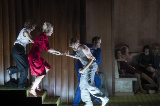 Maresi Riegner, Marie-Lou Sellem, Genija Rykova, Dominic Oley, Paul Behren Sommergäste Salzburger Festspiele 2019