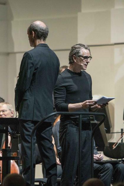 Peter Rundel, Jens Harzer, SWR Symphonieorchester, SWR Vokalensemble SWR Symphonieorchester Salzburger Festspiele 2019