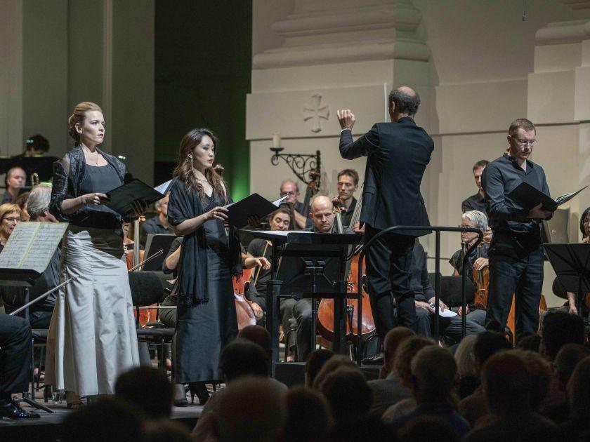 Bettina Ranch, Yeree Suh, Peter Rundel, Robin Tritschler, SWR Symphonieorchester, SWR Vokalensemble SWR Symphonieorchester Salzburger Festspiele 2019