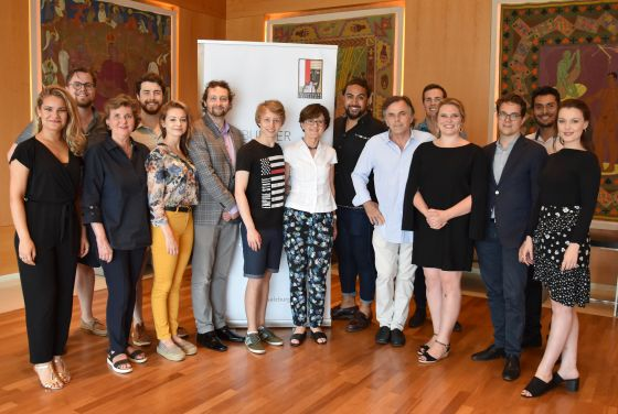 Participants of the Young Singers Project 2019