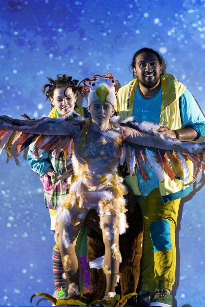 Zauberinsel Salzburger Festspiele 2019 Iurii Iushkevich , Benson Wilson, Sarah Shine