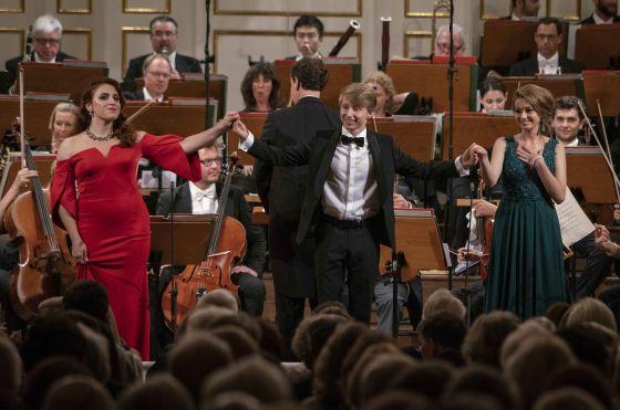Abschlusskonzert YSP - Mozarteumorchester Salzburg · Kelly Salzburger Festspiele 2019: Valentina Pluzhnikova, Iurii Iushkevich, Joanna Kędzior