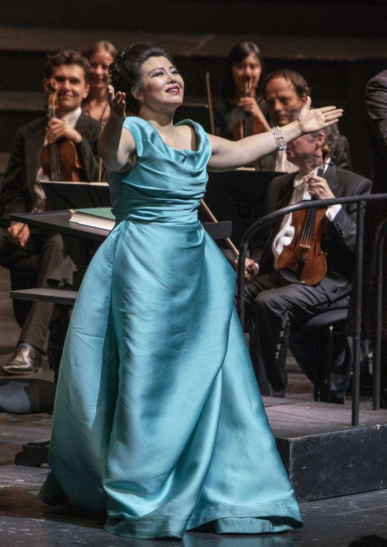 Nicola Alaimo, Hui He, Adriana Lecouvreur Salzburger Festspiele 2019