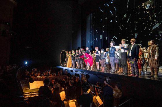 Alcina Salzburger Festspiele 2019 Schlussapplaus, Ensemble