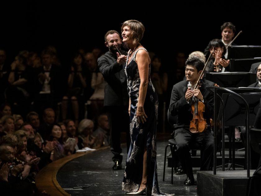 Salzburger Festspiele 2019 Berliner Philharmoniker 1 · Petrenko: Marlis Petersen