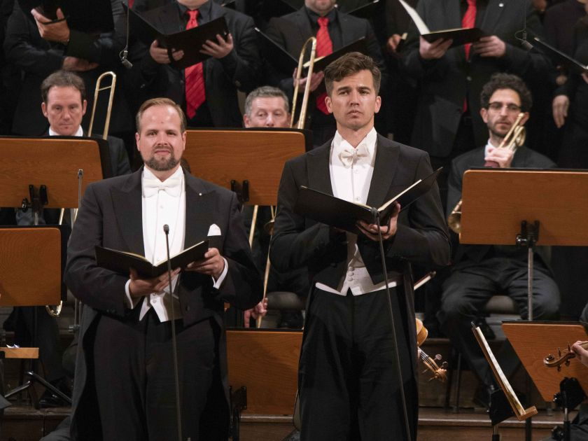 c-Moll-Messe - Camerata Salzburg · Manze Salzburger Festspiele 2019 Benjamin Bruns, Douglas Williams