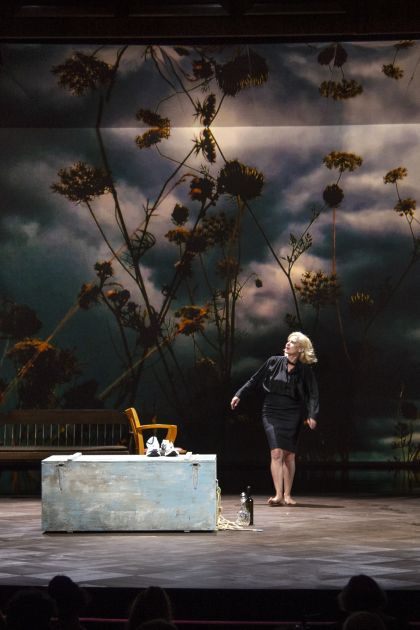 Die Empörten Salzburger Festspiele 2019 André Jung, Caroline Peters