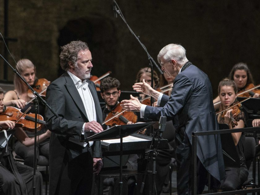 Gustav Mahler Jugendorchester · Blomstedt Salzburger Festspiele 2019: Christian Gerhaher, Herbert Blomstedt, Gustav Mahler Jugendorchester