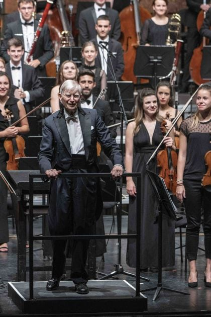 Gustav Mahler Jugendorchester · Blomstedt Salzburger Festspiele 2019: Herbert Blomstedt, Gustav Mahler Jugendorchester