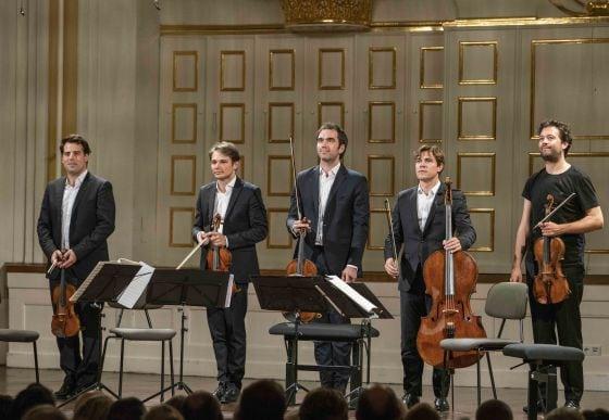 Kammerkonzert S. Meyer · Power · Quatuor Modigliani Salzburger Festspiele 2019 Lawrence Power, Quatuor Modigliani