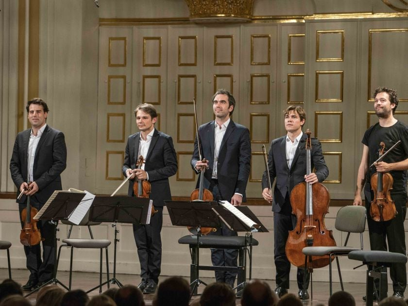 Kammerkonzert S. Meyer · Power · Quatuor Modigliani Salzburger Festspiele 2019 Lawrence Power, Quatuor Modigliani