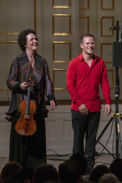 Kammerkonzert Salzburger Festspiele 2019 Tabea Zimmermann, Thomas Hoppe