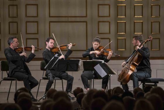 Kammerkonzert Quatuor Ébène Salzburger Festspiele 2019 Quatuor Ébène