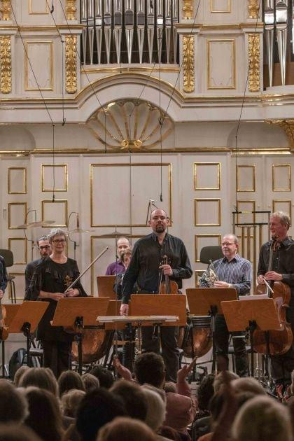 Klangforum Wien · Pomàrico Salzburger Festspiele 2019 Emilio Pomàrico, Andreas Lindenbaum, Klangforum Wien
