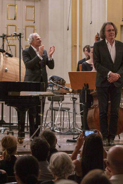 Klangforum Wien · Pomàrico Salzburger Festspiele 2019 Florian Müller, Emilio Pomàrico, Pascal Dusapin, Andreas Lindenbaum, Klangforum Wien
