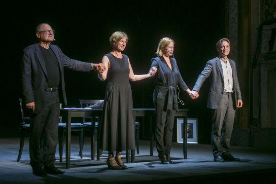 Lesungen Ulysses Salzburger Festspiele 2019 Burghart Klaußner, Corinna Harfouch, Birgit Minichmayr, Volker Bruch