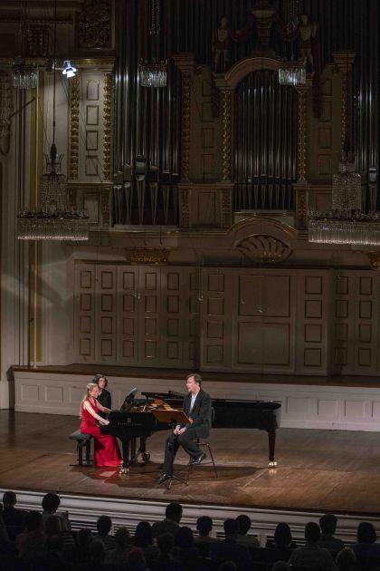 Liederabend Nigl · Pashchenko Salzburger Festspiele 2019 Olga Pashchenko, Georg Nigl