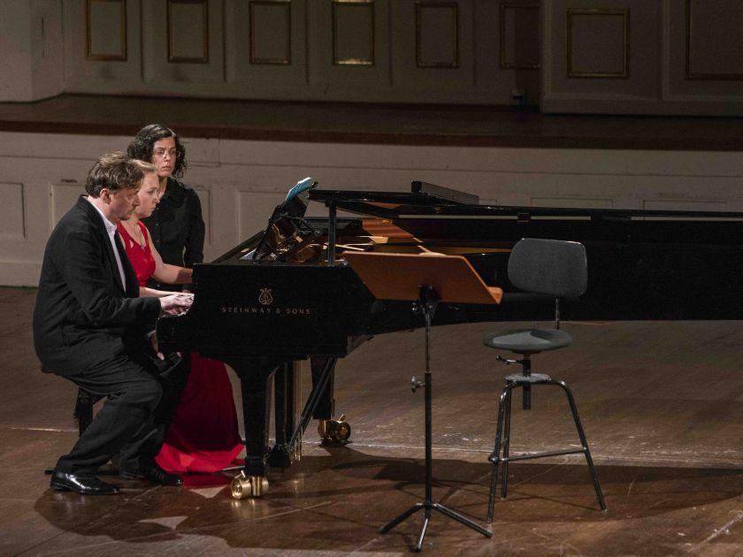 Liederabend Nigl · Pashchenko 2019 Olga Pashchenko, Georg Nigl, Pascal Dusapin