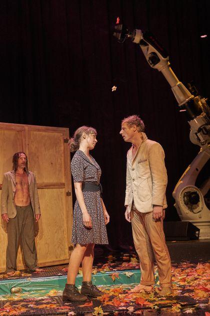Liliom Salzburger Festspiele 2019 Tilo Werner, Maja Schöne, Jörg Pohl