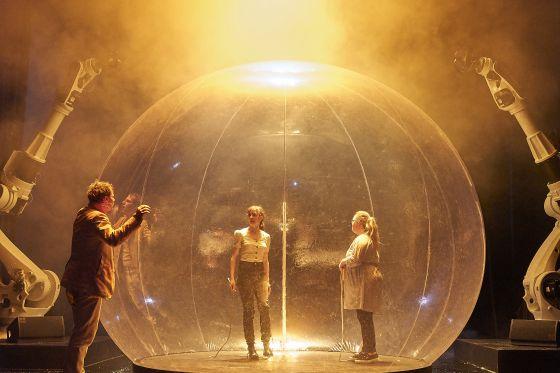 Liliom Salzburger Festspiele 2019 Jörg Pohl, Maja Schöne, Paula Karolina Stolze