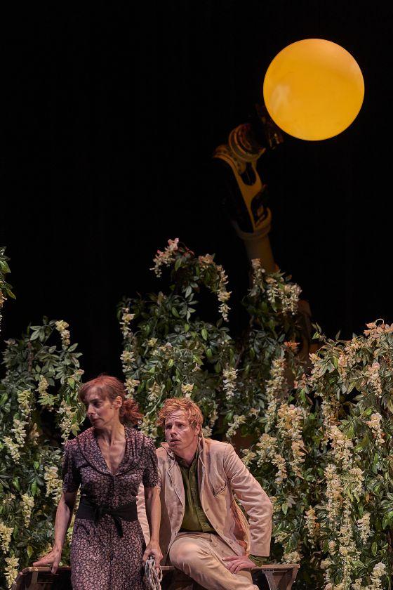 Liliom Salzburger Festspiele 2019 Maja Schöne, Jörg Pohl