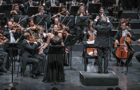 Luisa Miller Salzburger Festspiele 2019: Nino Machaidze (Luisa), James Conlon (Musikalische Leitung), Mozarteumorchester Salzburg