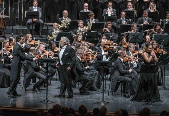 Luisa Miller Salzburger Festspiele 2019: Piotr Beczala (Rodolfo), Plácido Domingo (Miller), Nino Machaidze (Luisa), Mozarteumorchester Salzburg