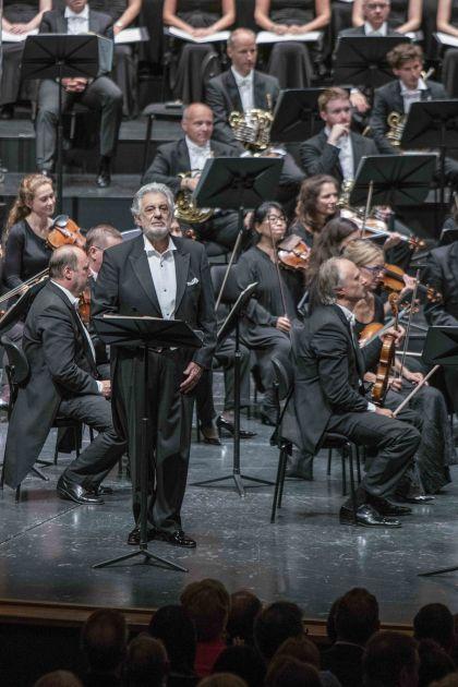 Luisa Miller Salzburger Festspiele 2019: Plácido Domingo (Miller), Mozarteumorchester Salzburg