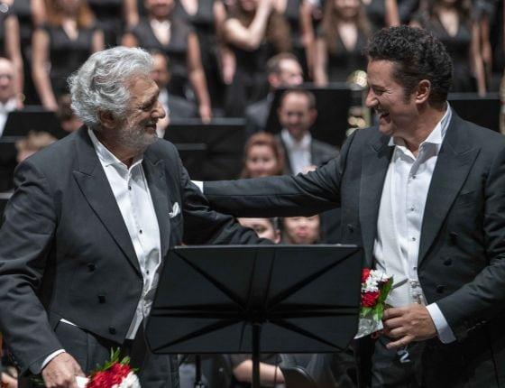 Luisa Miller Salzburger Festspiele 2019: Plácido Domingo (Miller), Piotr Beczala (Rodolfo)