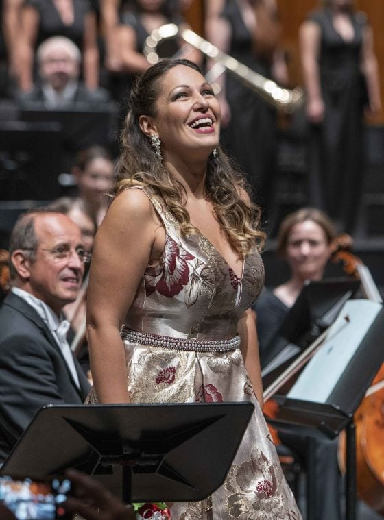 Luisa Miller Salzburger Festspiele 2019: Nino Machaidze (Luisa)