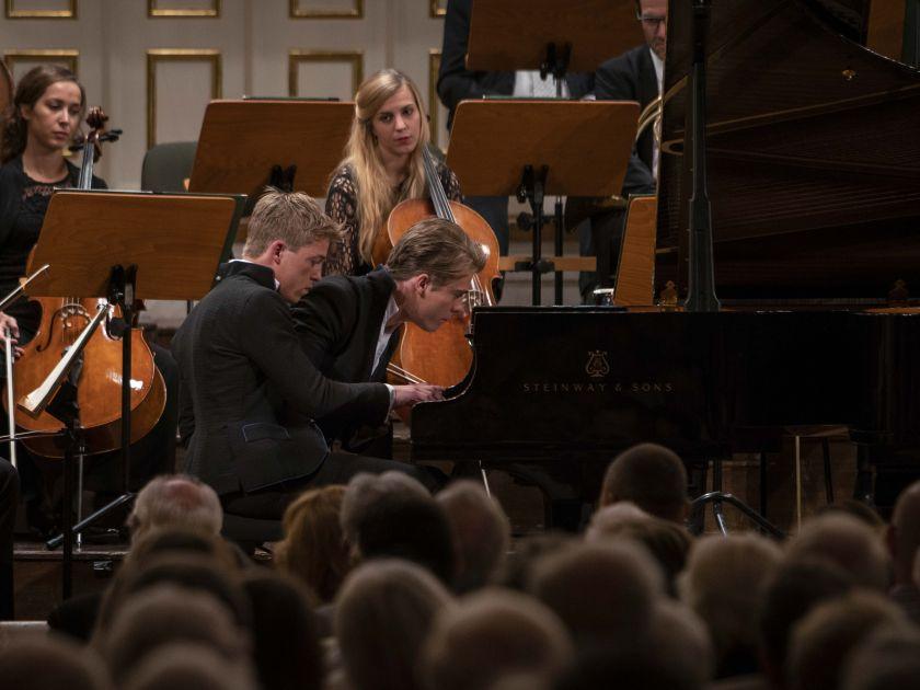 Mozart-Matinee · Fischer Salzburger Festspiele 2019: Lucas Jussen, Arthur Jussen, Mozarteumorchester Salzburg