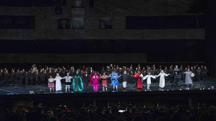 Œdipe Salzburger Festspiele 2019 Schlussapplaus