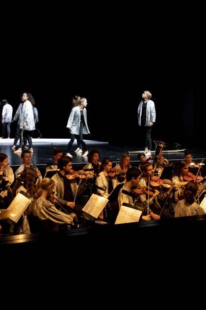 Abschlussaufführung Ödipus-Camp Salzburger Festspiele 2019