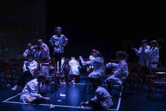 Abschlussaufführung Orpheus-Camp Salzburger Festspiele 2019: Ensemble