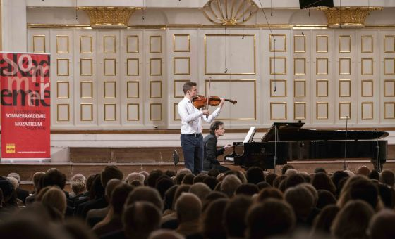 Salzburg Festival Award Winners' Concert of the International Summer Academy Mozarteum 2019: Wolfgang Matthias Schnorbusch