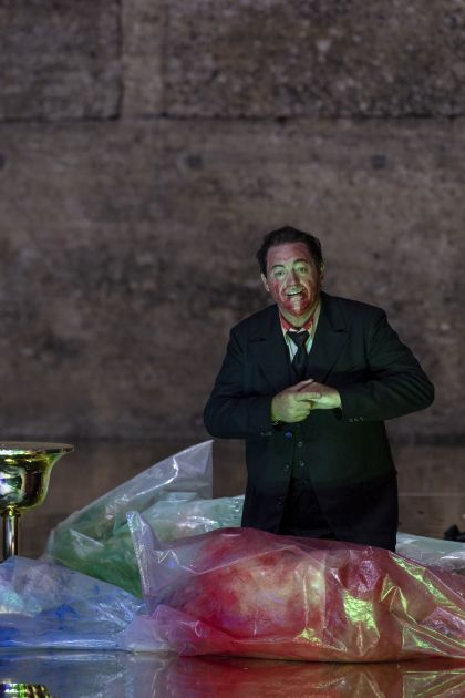 Salome Salzburger Festspiele 2019: John Daszak (Herodes)